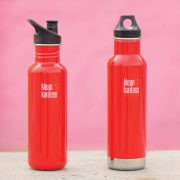 K27CPPS-MR - LS - mineral red bottles on pink barground